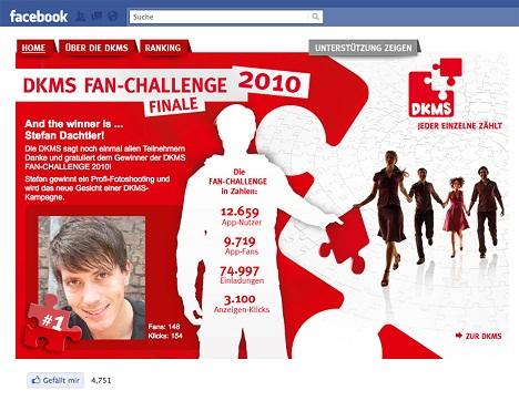 DKMS - Social Media Kampagne