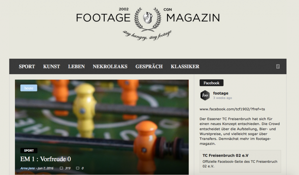 footage Magazin